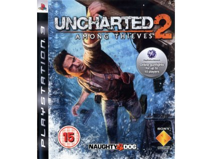 168683 uncharted 2 among thieves playstation 3 front cover