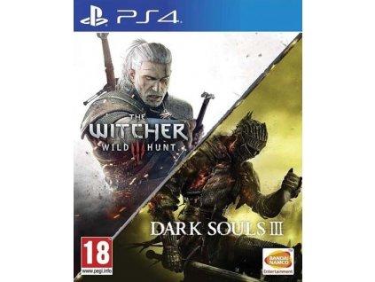 PS4 Dark Souls 3 + Zaklínač 3 Divoký Hon