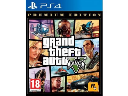 PS4 Grand Theft Auto V Premium Edition (GTA 5)