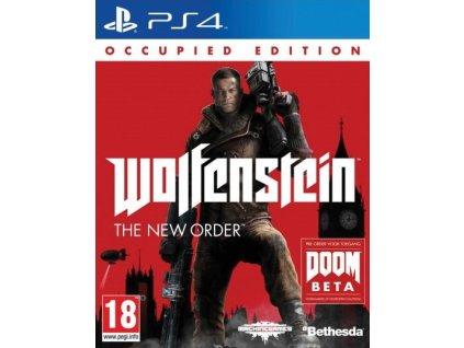 PS4 Wolfenstein The New Order Occupied Edition