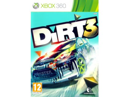 226183 dirt 3 xbox 360 front cover