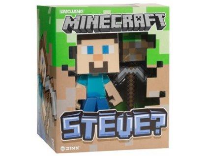 Figurka Minecraft Vinyl Steve Nové