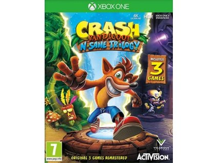 XONE Crash Bandicoot N Sane Trilogy