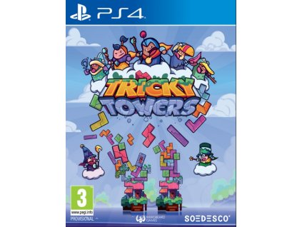 PS4 Tricky Towers
