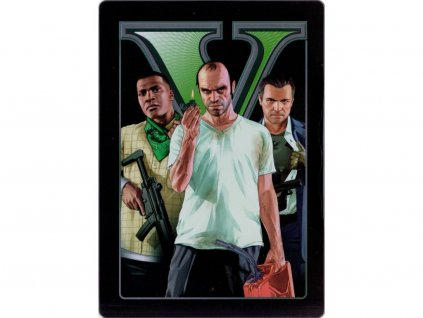 X360 Grand theft Auto V (GTA 5) Steelbook