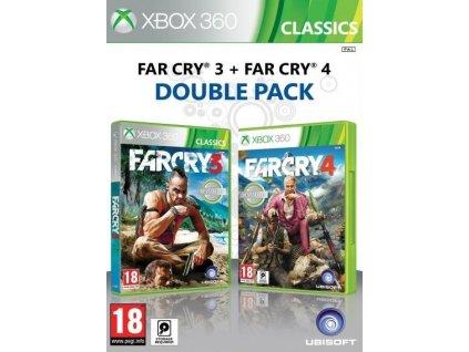 X360 Far Cry 3 + Far Cry 4 CZ