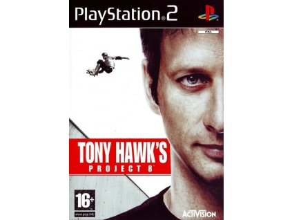 PS2 Tony Hawks Project 8