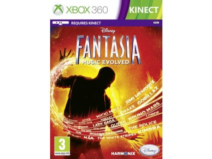 X360 Disney Fantasia Music Evolved