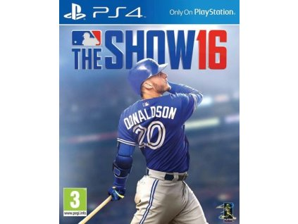 PS4 MLB 16 The Show