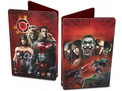 X360 Injustice Gods Among Us Steelbook