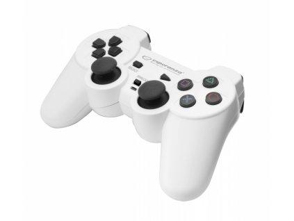 PS3 ovladač drátový EGG107W TROOPER WHITE Nové