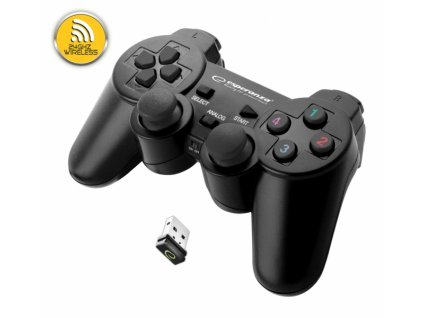 PS3 ovladač bezdrátový  EGG108K GLADIATOR BLACK Nové