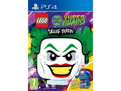 PS4 LEGO DC Super Villains + Mini Figure Edition