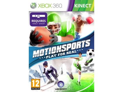 X360 MotionSports Play for Real Nové
