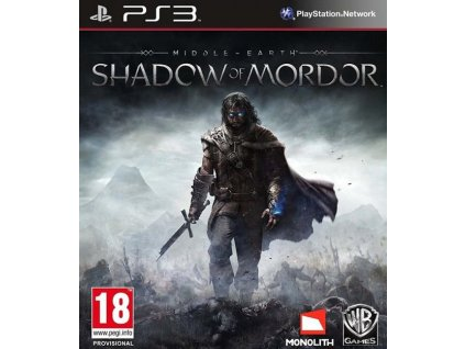 PS3 Middle Earth Shadow of Mordor Nové