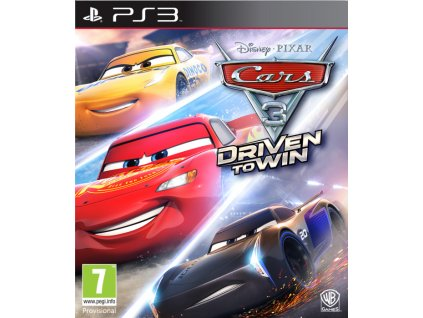 PS3 Disney Cars 3 Driven to Win Nové