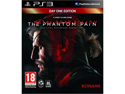 PS3 Metal Gear Solid V The Phantom Pain Day 1 Edition