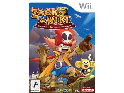 Wii Zack and Wiki Quest for Barbaros Treasure