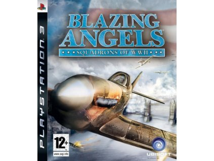 Blazing Angels Squadrons Of WWII Game For PS3 detail