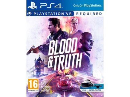 PS4 Blood and Truth VR