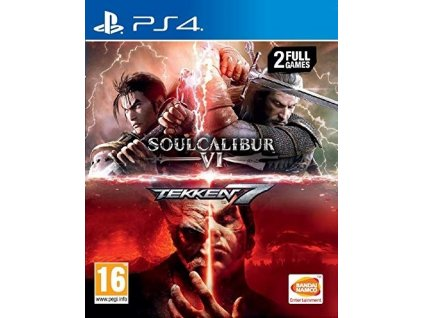 PS4 SoulCalibur VI + Tekken 7