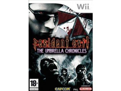 Wii Resident Evil The Umbrella Chronicles