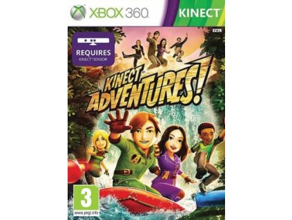 X360 Kinect Adventures