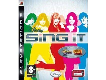 PS3 Disney Sing It