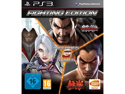 PS3 Fighting Edition Tekken 6 + Tekken Tag Tournament 2 + SoulCalibur 5