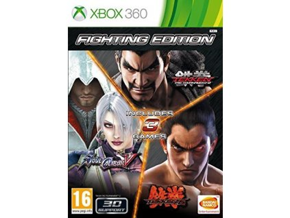 X360 Fighting Edition Tekken 6 + Tekken Tag Tournament 2 + SoulCalibur V
