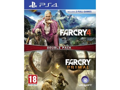 PS4 Far Cry 4 CZ + Far Cry Primal