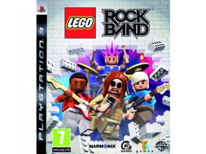 lego rock band ps3 pouzite