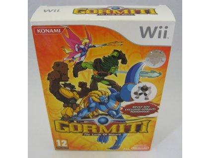 Wii Gormiti The Lords Of Nature! + figurka