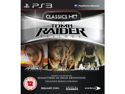 PS3 The Tomb Raider Trilogy HD