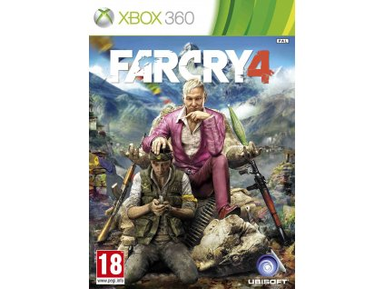 X360 Far Cry 4 CZ