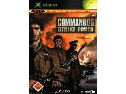 Commandos Strike Force DVD Xbox