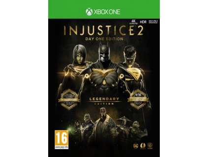 XONE Injustice 2 Legendary Edition Nové