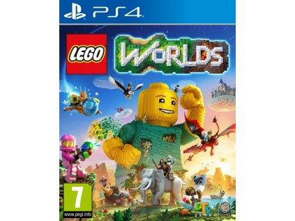 PS4 LEGO Worlds CZ
