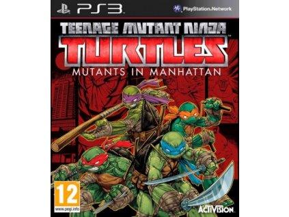 PS3 Teenage Mutant Ninja Turtles Mutants in Manhattan Nové