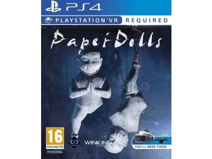 PS4 Paper Dolls