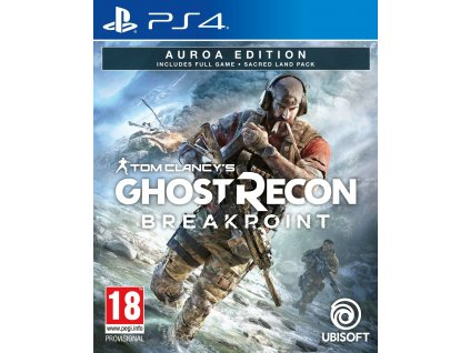 PS4 Tom Clancys Ghost Recon Breakpoint Aurora Edition