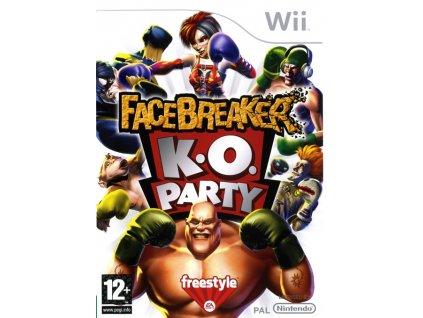 Wii Facebreaker K.O Party