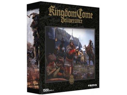 Puzzle Kingdom Come 1500 dílků Deliverance 1 Drancování vesnice