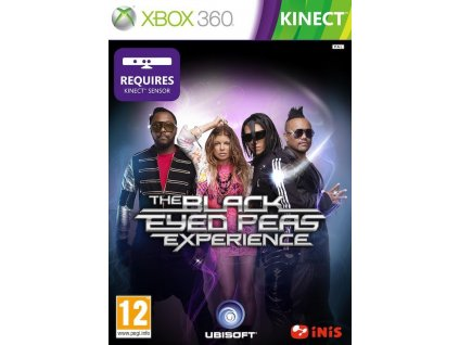 the black eyed peas experience xbox360 boxart