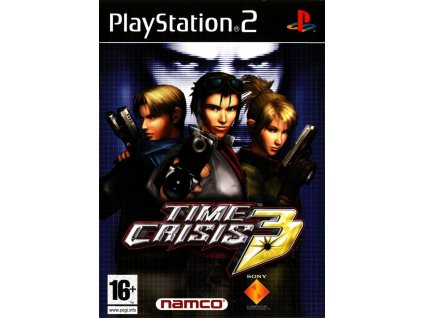time crisis 3 playstation 2