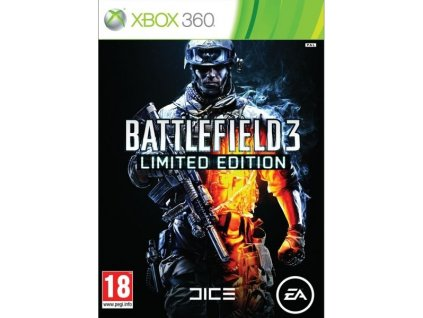 X360 Battlefield 3 Limited Edition CZ