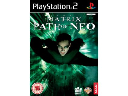 PS2 The Matrix Path of Neo