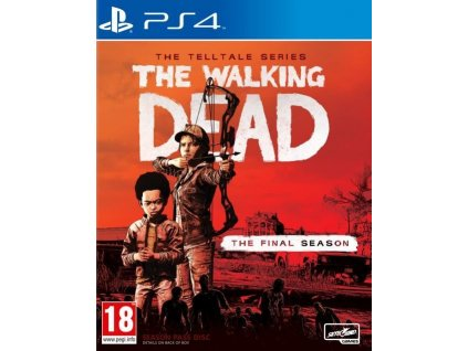 PS4 The Walking Dead Telltale Series The Final Season