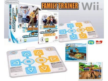 Nintendo Wii Family Trainer Extreme Challenge