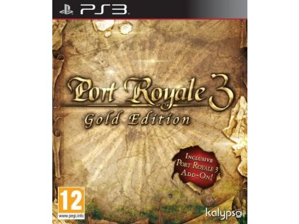 PS3 Port Royale 3 Gold Edition